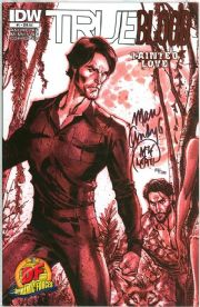 True Blood Tainted Love #1 2 3 4 5 6 Dynamic Forces Campbell Variant Set Signed x2 IDW comic book